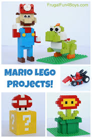super mario thanksgiving mario lego projects with building instructions lego projects
