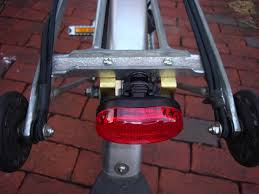 rear bike light rack mount chic cyclists this little light of mine