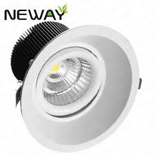 led recessed lighting manufacturers 10w 20w 30w 40w led commercial downlight led recessed lighting led