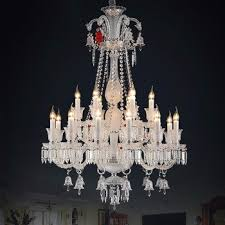 Bacarat Chandelier 18 Lights K9 Crystal Murano Glass Baccarat Chandelier Banquet Hall