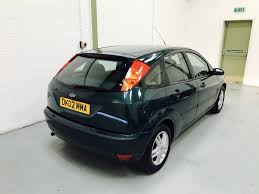 ford focus 1 6 zetec 5dr manual for sale in stafford stafford