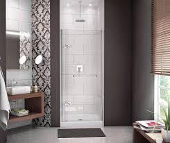 900 Shower Door Reveal 71 Pivot Shower Door 32 35 X 71 In 8 Mm Maax