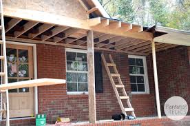 Porch Roof Plans by Existing Roof U0026 Adding A Patio Roof To Existing Roof Big Patio