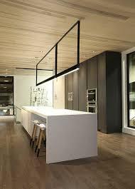 eclairage pour ilot de cuisine la cuisine équipée avec îlot central 66 idées en photos