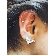 earring top of ear helix top ear cartilage el capitan piercer