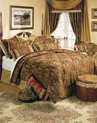 Amazon King Comforter Sets Amazon Com Sherry Kline China Art Brown 6 Piece Queen Comforter
