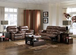 Brown Leather Recliner Sofa Leather Reclining Sofa And Loveseat Alleycatthemes Com