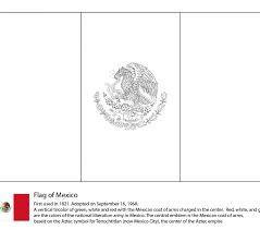 line drawings mexican flag coloring pages at style desktop