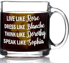 unique coffee gifts amazon com funny golden girls mug 13oz coffee mug inspired by