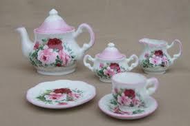 roses tea set harrods bone china doll dishes miniature tea set w