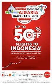 airasia travel fair indonesia airasia travel fair 2017