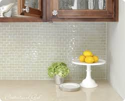 Glass Backsplash Tiles Painting Agreeable Interior Design Ideas - Green glass backsplash tile