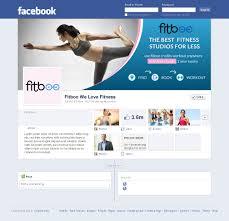 upmarket personable facebook design for fitboo by smart design