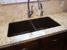 Undermount Granite Kitchen Sink Kitchen Gorgeous Granite Undermount Kitchen Sinks Lowes White