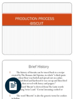 template for feasibility report on biscuit production warehouse