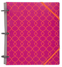 Bright Pink Bathroom Accessories by Mead Organizher Expense Tracker 8 5 X 11 Inches Pink Poly 64049