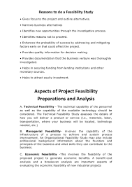 technical feasibility report template business feasibility study exle pdf and business feasibility