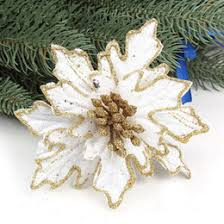 gold poinsettia ornaments gold poinsettia ornaments for sale