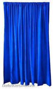 Royal Blue Curtains 16 Ft High Royal Blue Velvet Curtain Panel School