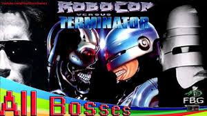 robocop electrocutes himself youtube robocop versus the terminator all bosses genesis youtube