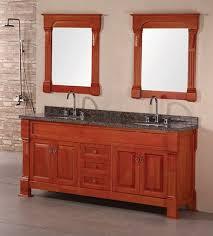 Cherry Bathroom Vanity Cabinets Design Element Andover 72