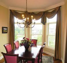 window coverings for bow windows geometric patterned roman dining room bay window treatments 1000 images about bow windows on dining room bay window treatments