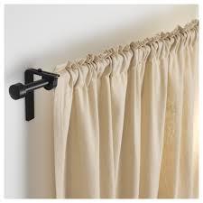 räcka curtain rod combination black 120 210 cm ikea