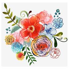 Floral Art Designs 612 Best Grafico Images On Pinterest Drawings Watercolor And