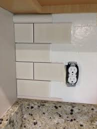 Tile Borders For Kitchen Backsplash by Diy Kitchen Backsplash Frills U0026 Drills