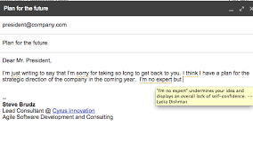 just not sorry the gmail plug in chrome web store