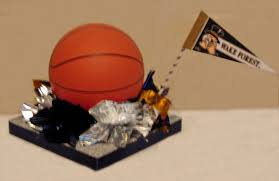 basketball centerpieces single level custom basketball bar mitzvah centerpiece table