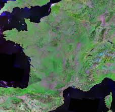 Map Of Northern France by France Map And Satellite Image