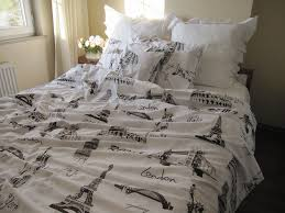 World Map Duvet Cover Uk by Twin Xl Single Duvet Cover Eiffel Tower Theme Paris London