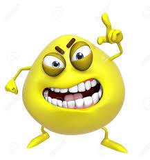 3d cartoon cute yellow monster stock photo picture and royalty