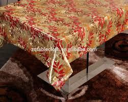 Oval Vinyl Tablecloth Gold Vinyl Tablecloth Gold Vinyl Tablecloth Suppliers And