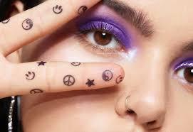 tattoo stamp milk makeup