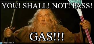 You Shall Not Pass Meme - you shall not pass gas you shall not pass on memegen