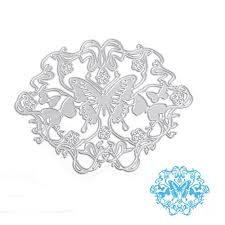 Cutting Dies For Card Making - scastoe butterfly metal cutting dies stencil diy paper craft card