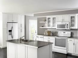 gray kitchen cabinets white appliances kitchen colors with white appliances modern design