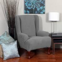 Velvet Wingback Chair Bedroom Red Burgundy Velvet Wingback Chair Cover With Classic