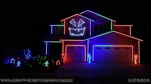 halloween light show 2014 rude magic youtube