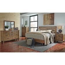 Ashley Furniture Bedroom Nightstands Dondie Queen Platform Bed By Ashley Furniture B663 54 57 Ashley
