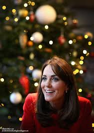 kate wears mcqueen for 4th time at anna freud christmas party