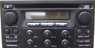 2003 honda accord radio problems honda accord car stereo cd changer repair and or add an aux input