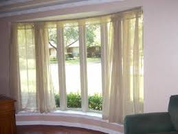 bay window curtain rod design ideas u0026 decors with curved curtain