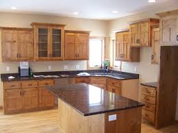 Natural Hickory Kitchen Cabinets Appealing Natural Knotty Alder Kitchen Cabinets 145 Natural Knotty