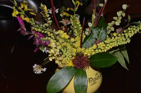 in a new year vase on monday the blooming garden