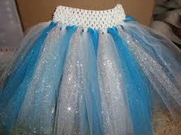 crochet headband tutu elsa inspired tutu skirt glitter tulle skirt frozen inspired