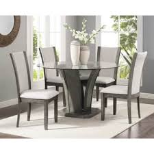 Glass Dining Sets 4 Chairs Glass Kitchen Dining Room Sets For Less Overstock