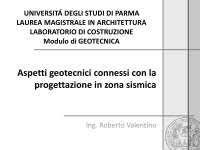 geotecnica dispense la relazione geotecnica docsity
